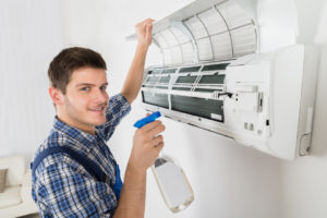 Cleaning Air Conditioner